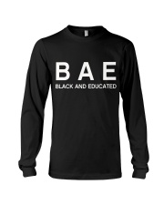 Black And Educated Long Sleeve Tee thumbnail
