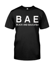 Black And Educated Classic T-Shirt thumbnail