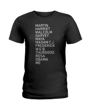 Black History Month TT5 Ladies T-Shirt thumbnail