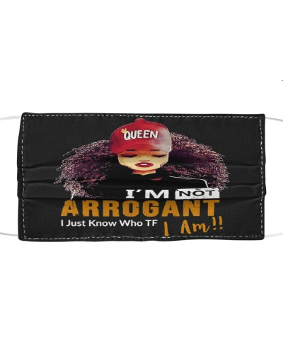 Afro Girl I Am Not Arrogant