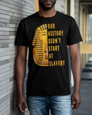 Our History Didnt TT Classic T-Shirt apparel-classic-tshirt-lifestyle-front-40
