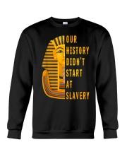 Our History Didnt TT Crewneck Sweatshirt thumbnail