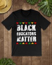 Black Educators Matter Teacher Classic T-Shirt lifestyle-mens-crewneck-front-18