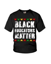 Black Educators Matter Teacher Youth T-Shirt thumbnail