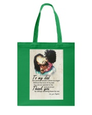 To My Dad Afro Dad And Daughter Tote Bag thumbnail