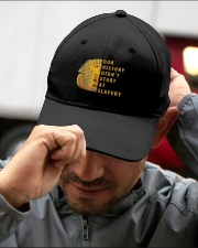 Our-History-Didnt-Hat Embroidered Hat garment-embroidery-hat-lifestyle-01