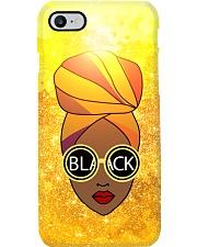 Melanin Queen And Headwrap Phone Case i-phone-7-case