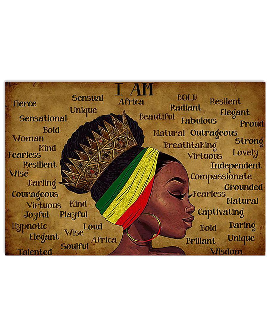Black Queen 36x24 Poster