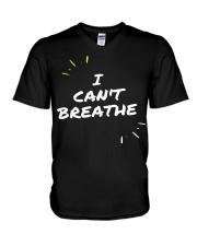 I Cant Breathe 5 V-Neck T-Shirt thumbnail