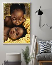 Beautiful Black Babies Love 16x24 Poster lifestyle-poster-1