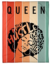 "Black Queen Sherpa Fleece Blanket And Apperal Small Fleece Blanket - 30"" x 40"" thumbnail"