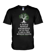 Black History Month 2 TT V-Neck T-Shirt thumbnail