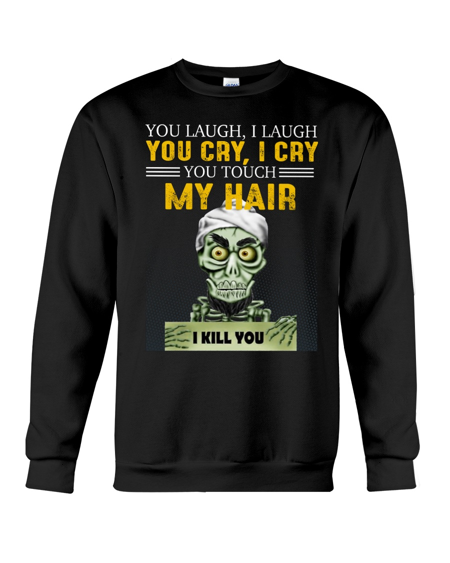 Don't Touch My Hair Afro Hair Pride Crewneck Sweatshirt