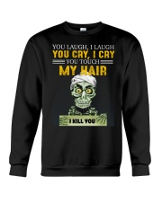 Don't Touch My Hair Afro Hair Pride Crewneck Sweatshirt front