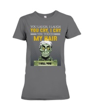Don't Touch My Hair Afro Hair Pride Premium Fit Ladies Tee thumbnail
