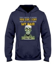 Don't Touch My Hair Afro Hair Pride Hooded Sweatshirt thumbnail