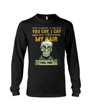 Don't Touch My Hair Afro Hair Pride Long Sleeve Tee thumbnail