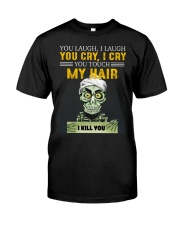 Don't Touch My Hair Afro Hair Pride Premium Fit Mens Tee thumbnail