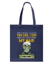Don't Touch My Hair Afro Hair Pride Tote Bag thumbnail