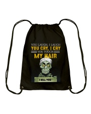 Don't Touch My Hair Afro Hair Pride Drawstring Bag tile