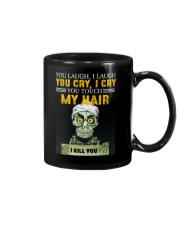 Don't Touch My Hair Afro Hair Pride Mug tile