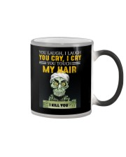 Don't Touch My Hair Afro Hair Pride Color Changing Mug thumbnail