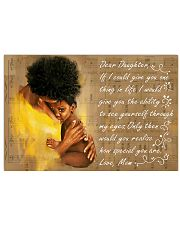 Dear Daughter 17x11 Poster front