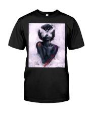 Black Girl 156 Classic T-Shirt front
