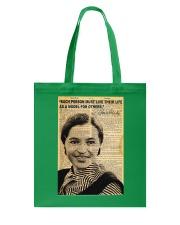 Rosa Parks - Black Lives Matter Tote Bag thumbnail
