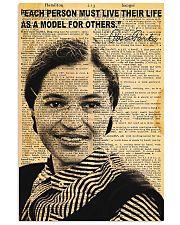 Rosa Parks - Black Lives Matter 11x17 Poster front