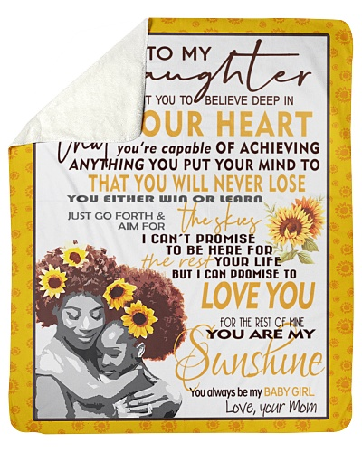 Black Mother And Daughter Christmas Gift
