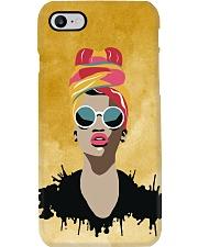 Melanin Woman And Beautiful Headwrap  Phone Case i-phone-7-case