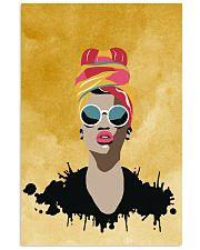 Melanin Woman And Beautiful Headwrap  11x17 Poster thumbnail