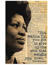 You Wanna Fly - Toni Morrison 11x17 Poster front
