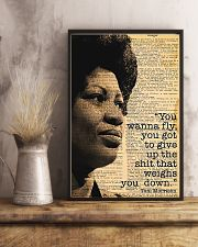 You Wanna Fly - Toni Morrison 11x17 Poster lifestyle-poster-3
