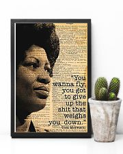 You Wanna Fly - Toni Morrison 11x17 Poster lifestyle-poster-8