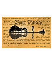 I Love You Dad 17x11 Poster front