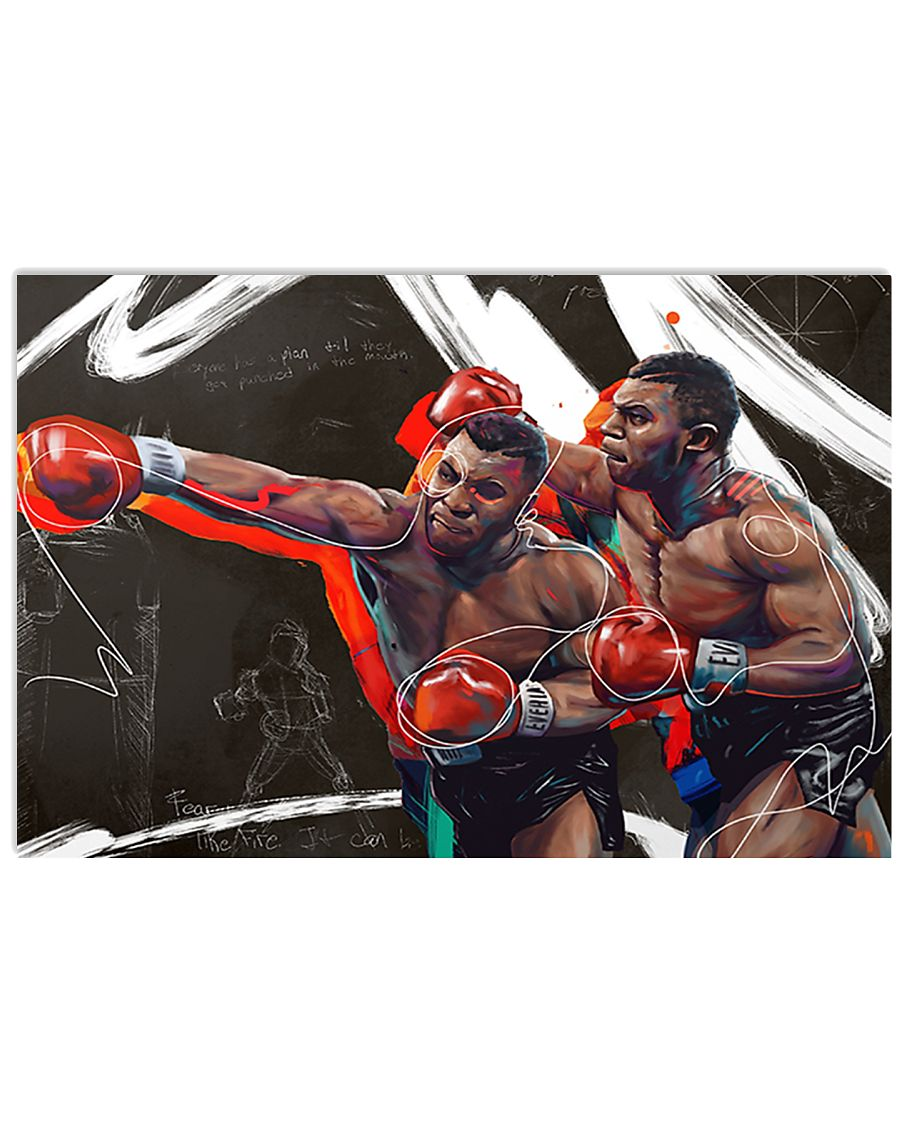 IRON MIKE POSTER 17x11 Poster