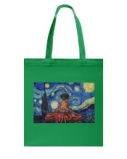 Black Father And Son Tote Bag thumbnail