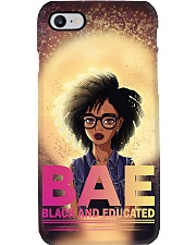Black And Educated Phone Case tile
