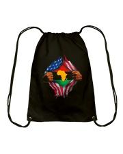African American Pride Drawstring Bag thumbnail