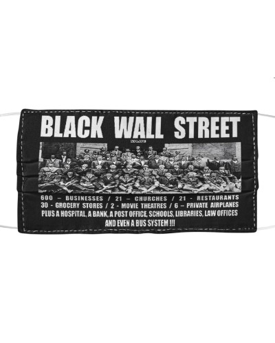 Black Wall Street TT Mask