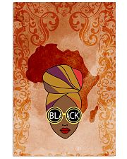 Afro Woman And Beautiful Headwrap Vertical Poster tile