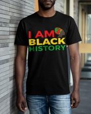 I am Black History Classic T-Shirt apparel-classic-tshirt-lifestyle-front-40