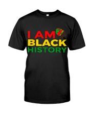 I am Black History Classic T-Shirt front