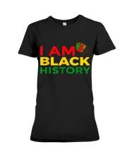I am Black History Premium Fit Ladies Tee thumbnail