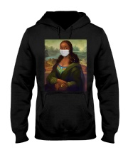 African Monalisa Painting Best Sellers Hooded Sweatshirt thumbnail
