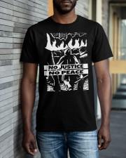 No JUstice No Peace TT4 Classic T-Shirt apparel-classic-tshirt-lifestyle-front-40