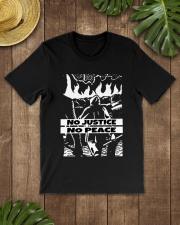 No JUstice No Peace TT4 Classic T-Shirt lifestyle-mens-crewneck-front-18
