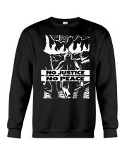 No JUstice No Peace TT4 Crewneck Sweatshirt thumbnail